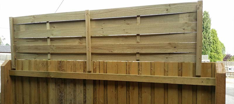 How to install fence extensions
