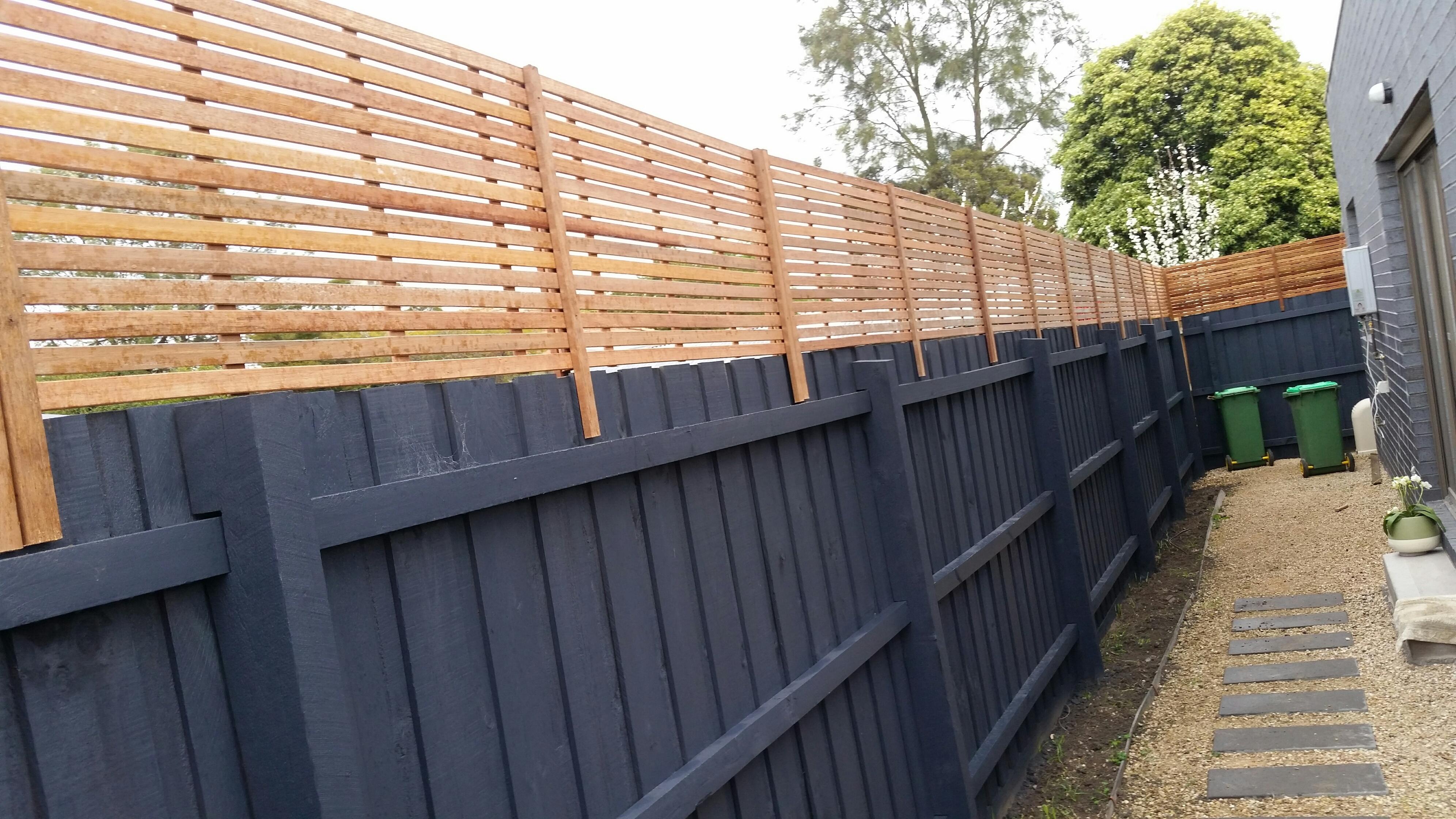 Melbourne Fence Extensions Panels Screens Sydney Hardwood