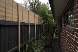 flat extensions capped fence