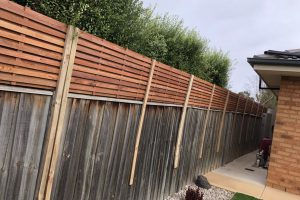 privacy hardwood block out fence extensions
